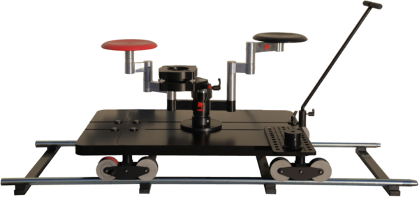 Lowering Plate Mounted on Lince Camera Dolly Track