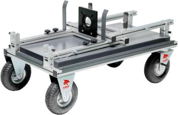 Perspective Folded Lince Camera Cart 120 cm