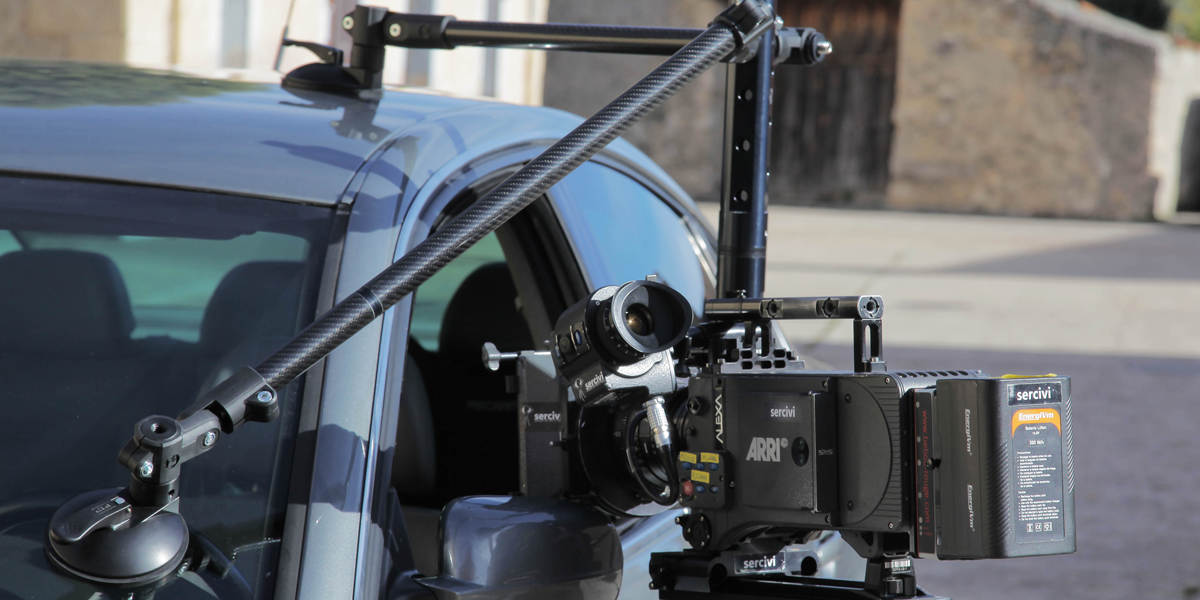 Camera Car Mount from Lince Crane