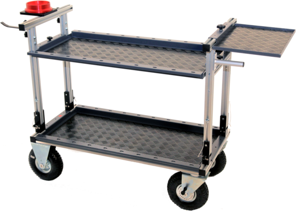 Lince Camera Cart with Additional Equipment